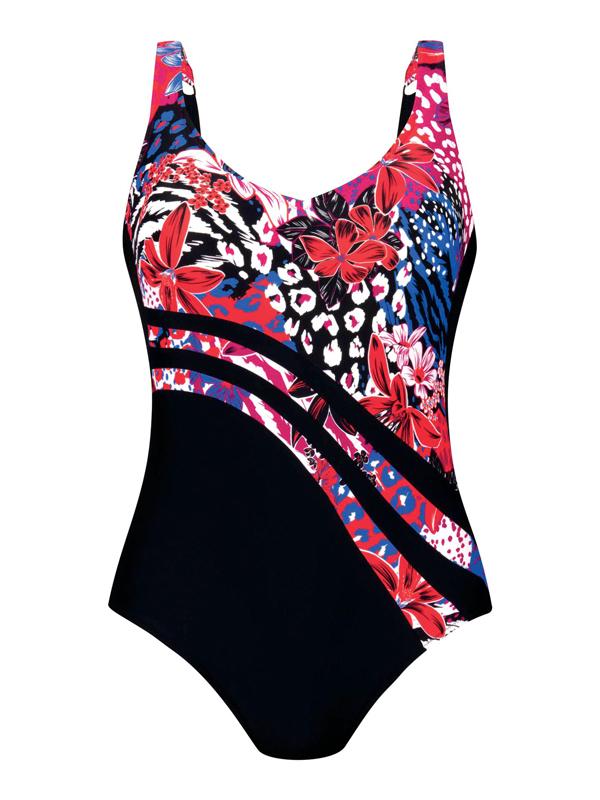 Anita-Luella, Badeanzug in Farbe Raspberry