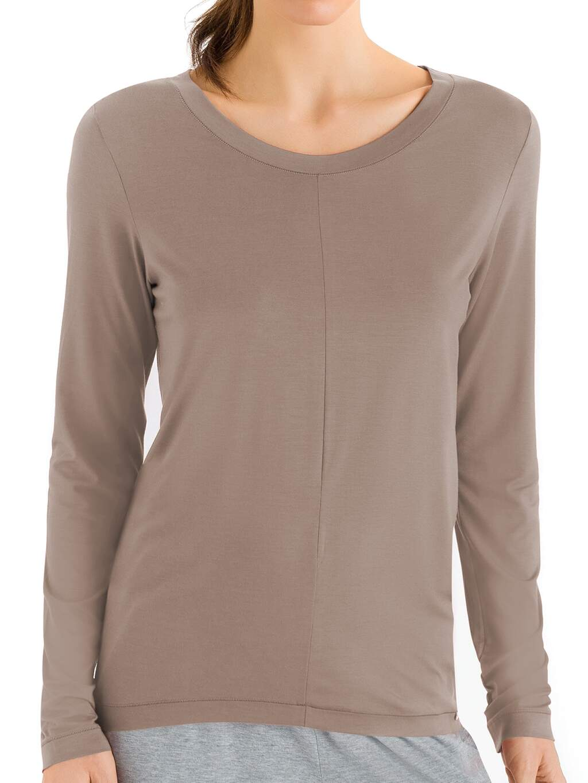 Hanro-Yoga, Lounge Shirt Langarm