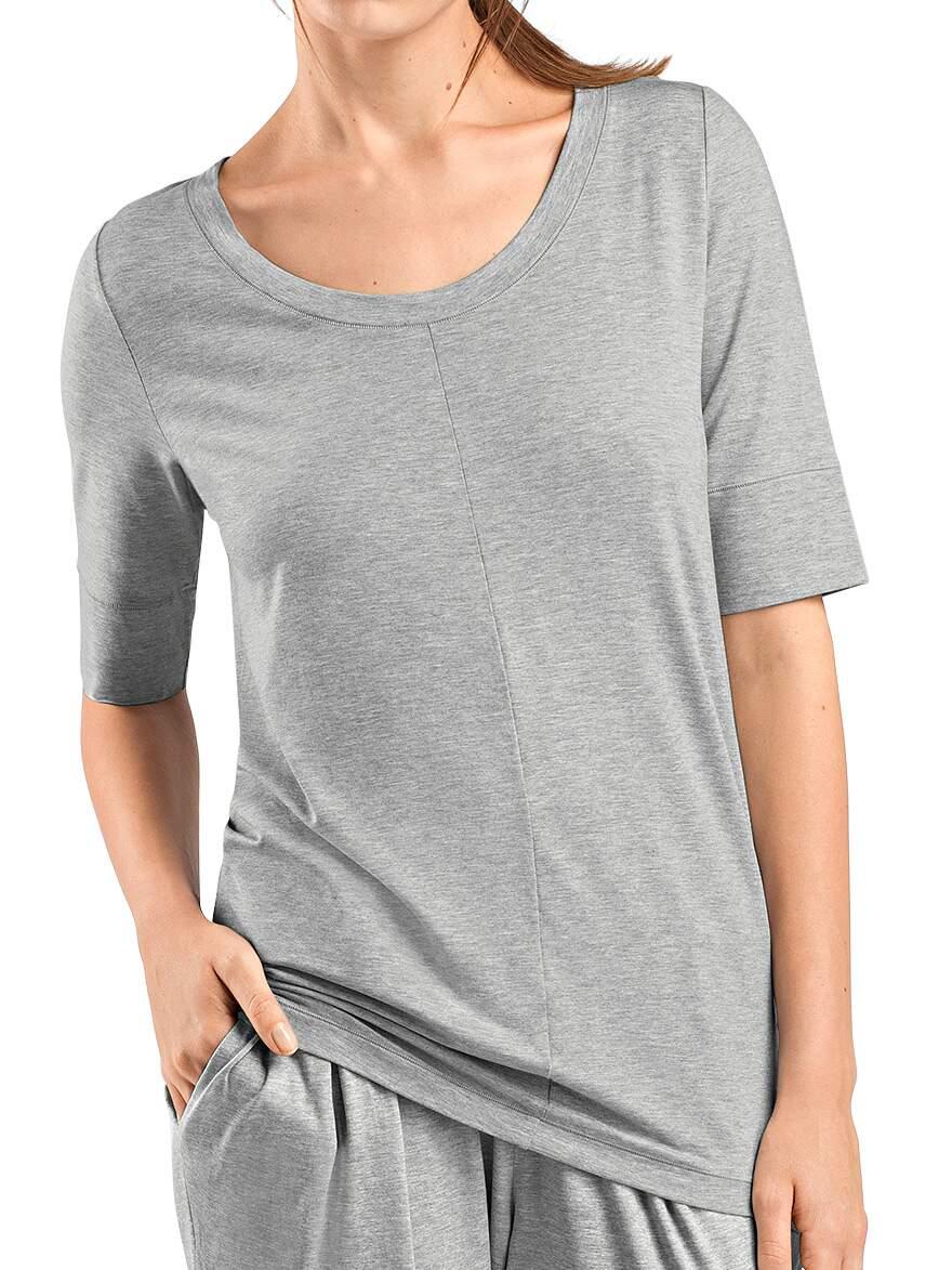 Hanro-Yoga, Lounge Shirt Kurzarm