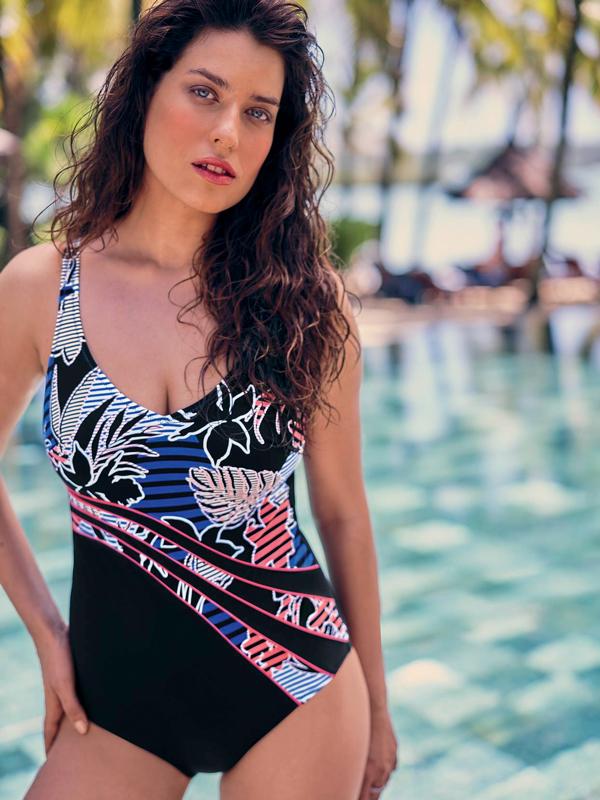 Anita-Luella, Badeanzug in Farbe Bunt